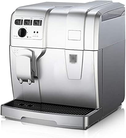 ZHQHYQHHX Cafetera Máquina de café Comercial de Alta presión de Vapor Concentrado máquina de Espuma con Granos de molienda 1.5L: Amazon.es: Hogar