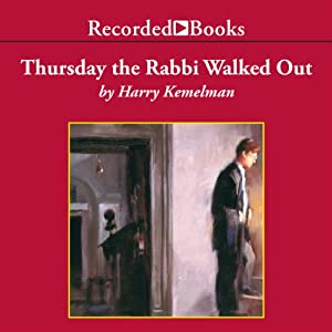 Thursday the Rabbi Walked Out Audiobook