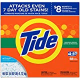 Tide Mountain Spring HE Turbo Powder Laundry Detergent, 68 Loads, 95 Oz