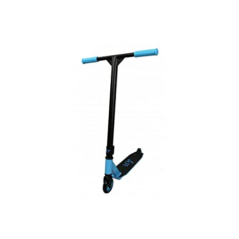 213 F-Style Patinete Stunt para Adulto, Negro/Azul: Amazon ...