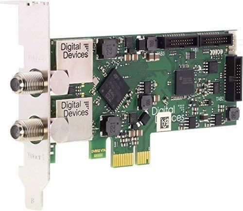 PCI Express Karte Digital Devices Twin Tuner TV Karte DVB-S//S2 DD Cine S2 V7A