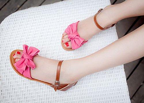 Insun - Sandalias de vestir de Material Sintético para mujer Rosa - rosa
