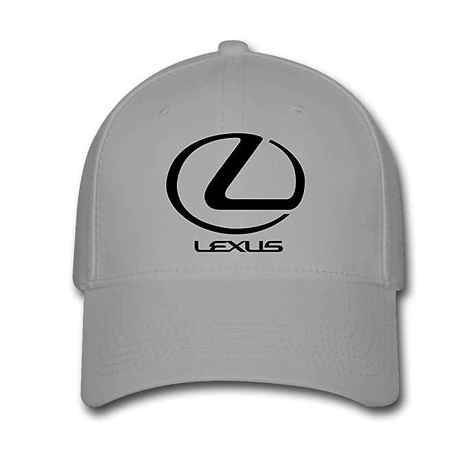 e04bfe394fa Amazon.com  Adjustable Lexus Logo Baseball Cap Running Cap Gray ...