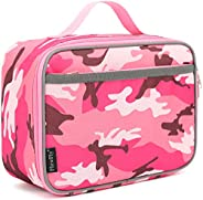 Kids Lunch box Insulated Soft Bag Mini Cooler Back to School Thermal Meal Tote Kit for Girls, Boys,Women,Men b
