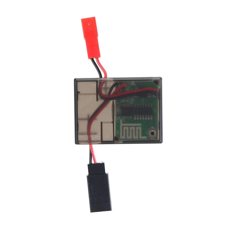 2,4G 6-11,1 V Seilwinde Drahtlose Fernbedienung//Empf/änger Universal Fernbedienung F/ür 1//10 RC Auto Traxxas Axial SCX10 D90 Hpi Auto Schwarz Und Rot