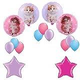 Rachaelhale Glamour Cats Balloon Decoration Kit