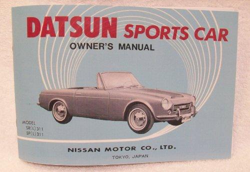 Reprint 1968 Datsun Roadster Owner's Manual