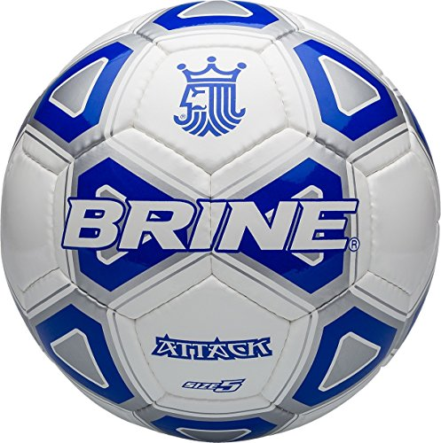 Brine Attack Ball, Royal Blue, Size 5
