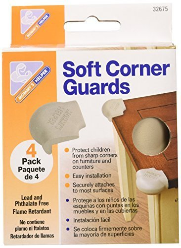 Mommys Helper Soft Corner Guards (3-Pack of 4) ()