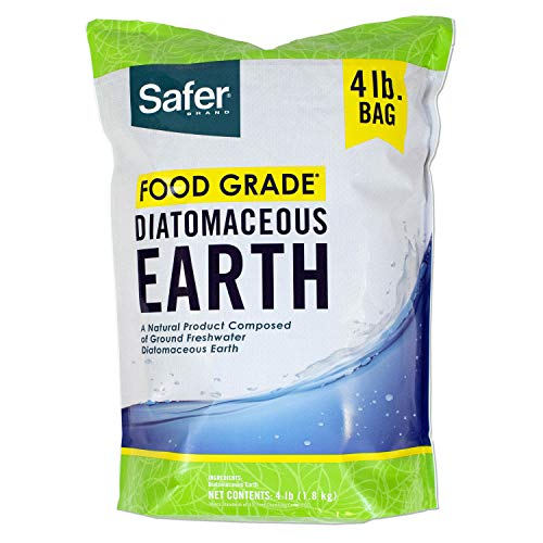 Safer Brand 51704 Food Grade Diatomaceous Earth - 4 lb