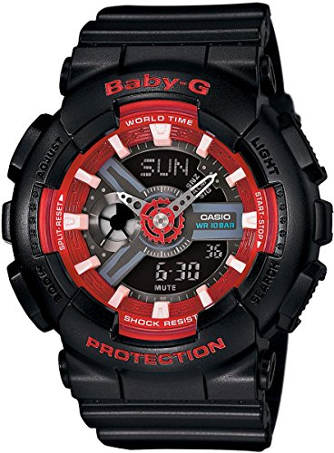 G Shock Womens BA110SN Black Watch