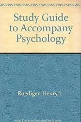 Study Guide to Accompany Psychology