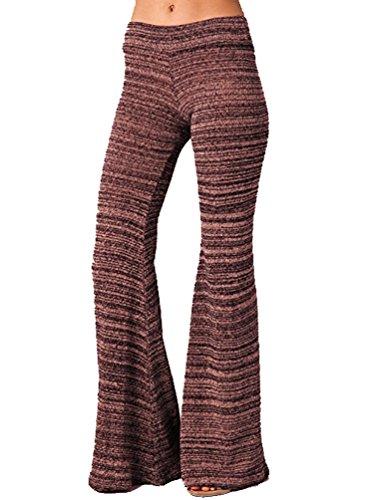 Nightcap x Carisa Rene Women's Kasuri Flare Pants in Fuchsia (Large) by Nightcap