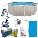 Cornelius Pools Phoenix 18' x 52' Frame Above Ground Pool Kit with Pump & Ladder