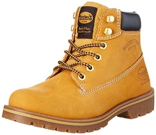 golden 35aa203 910 Dockers 300910 Jaune Boots By Rangers Femme Gerli Tan ZwPE1q8