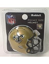 New Orleans Saints Riddell Speed Pocket Pro Football Helmet - New in package