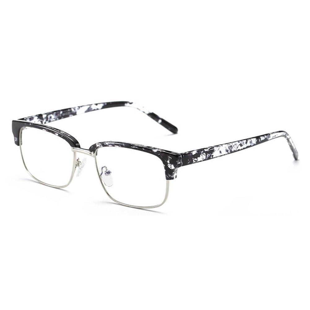 Hibote Uomo Donna Occhiali Anti Blu - TR90 Occhiali Ultra-chiari Occhiali Rettangolari Occhiali Lenti Occhiali X170910YJJ1204-X