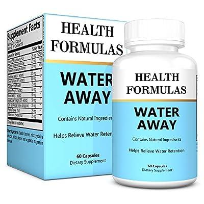 Herbal Diuretic Water Pills - Natural Diuretic Supplement That Helps Relieve Water Retention & Aids In Weight Loss For Women & Men