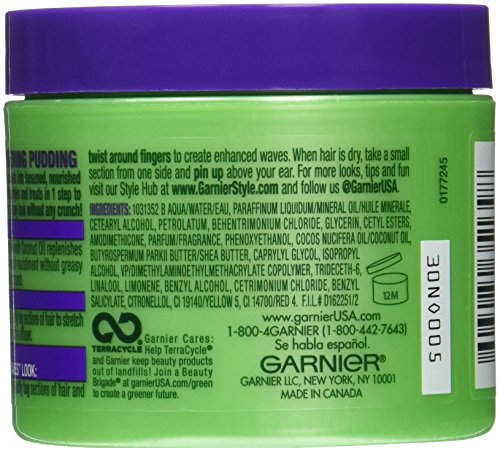 Garnier Fructis Style Curl Stretch Loosening Pudding, Naturally Curly Hair, 4 oz.