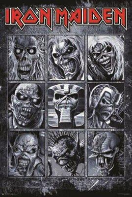 - Iron Maiden - Faces of Eddie  Poster (24x36) PSA010018
