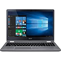 Acer - Aspire R 15 2-in-1 15.6 Full HD 10-point Multitouch Screen Laptop - Intel Dual-Core i7 - 12GB Memory - NVIDIA GeForce 940MX - 1TB Hard Drive - Windows 10 - Steel gray