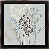 16x16 Sky Dance II by Venter, Tandi: Distressed Classic Black 18015