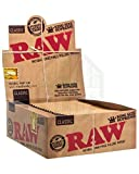 Raw Classic King Size Supreme Rolling Papers Full Box Of 24 Packs