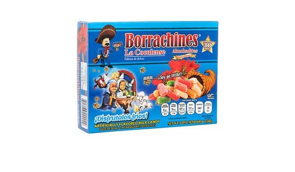 Amazon.com : Authentic Sabores Imported Mexican Borrachines Almoaditas Deliciosas de Leche y Licor 30ct. With 1ct. Delicious Caramel Peanut : Grocery ...