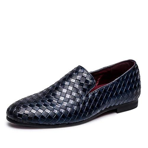 Hombres Zapatos Casuales Slip-En La ConduccióN Oxfords Zapatos Hombres Mocasines Mocasines Zapatos para Hombres Flats Mens Zapatos De Vestir Zapatillas ...