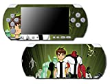 Ben 10 Ten Omnitrix Video Game Vinyl Decal Skin Sticker Cover for Sony PSP Playstation Portable Slim 3000 Series System