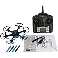 JJRC H21 2.4GHz 4CH RC Drone RTF Headless Mode Hexacopter One Key Return Helicopter with LED Lights - Black