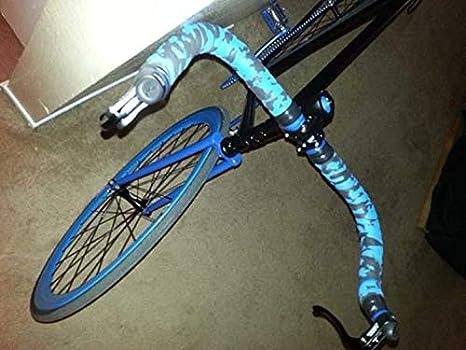 HOT Deda Padded Handlebar Bar Tape Bicycle Camo Bike Road Grip Wraps Rubber Foam