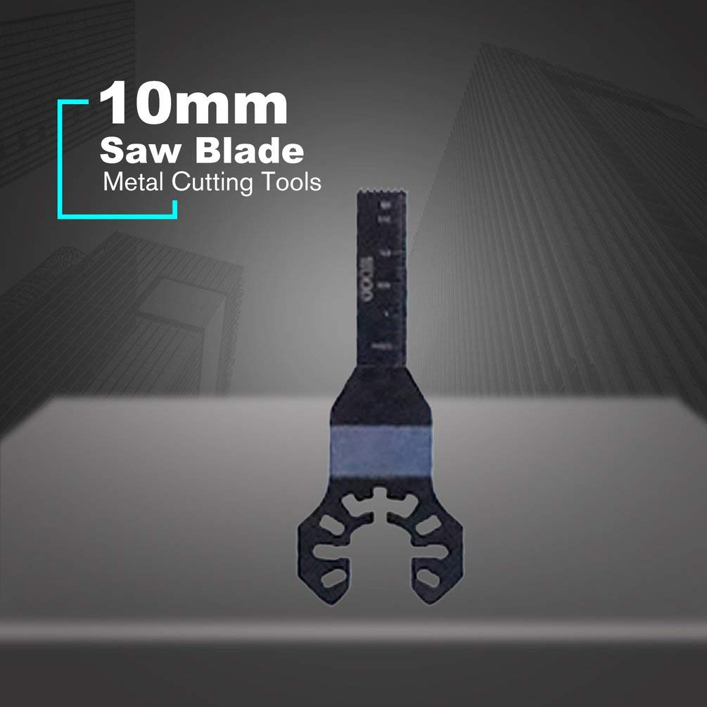 Hehilark 10-68mm Changement Rapide Multi-Outils oscillants /à Lames de scie Accessoires pour Black /& Decker Outils de Coupe /à Usage Domestique