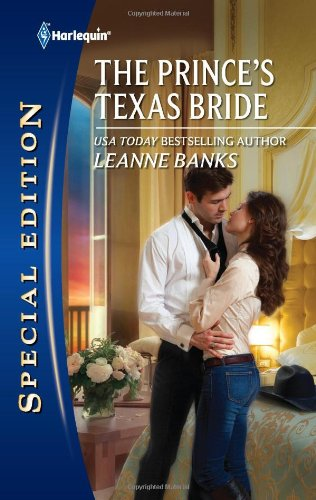 book cover of The Prince\'s Texas Bride