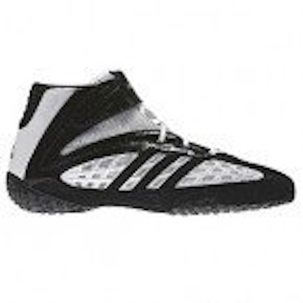 Adidas Vapor Speed Wrestling Shoes - White/Black/Black - 8.5 by adidas