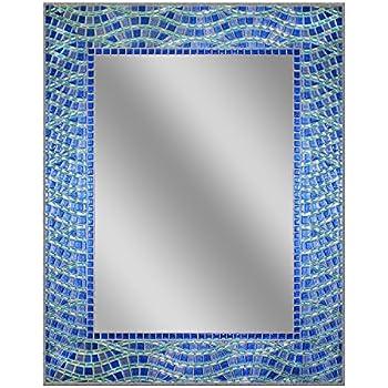 Head West 24 x 30 Blue Ocean Mirror, 24x30 inches
