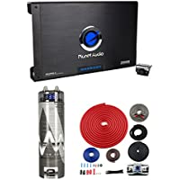 Planet Audio AC2000.2 2000W 2-Ch Car Amp + Remote + 2 Farad Capacitor + Amp Kit