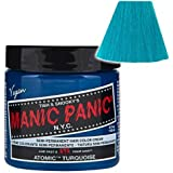 MANIC PANIC Cream Formula Semi-Permanent Hair Color - Atomic Turquoise