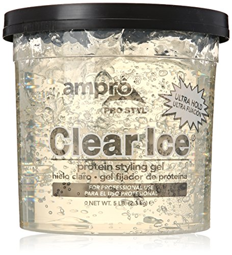 Ampro Clear Styling Gel, 5 Pound