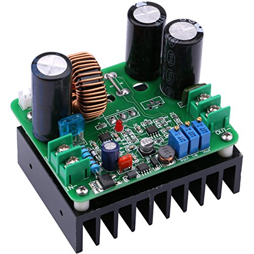 Boost Voltage Converter, Yeeco DC DC 12-90V to 12-130V 15A 900W Adjustable Step Up Voltage Transformer Power Supply Module Volt Transformer Circuit Board Regulator Controller Stabilizer CV - Transformer 900w