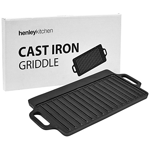 8 inch cast iron griddle - 1