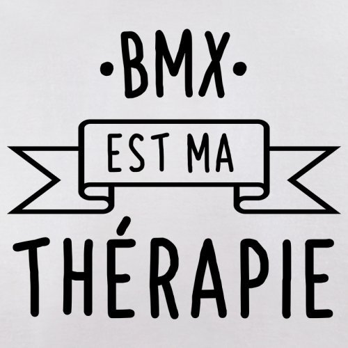 Le bmx est ma thérapie - Femme T-Shirt - Blanc - XL