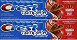 Crest Cinnamon Toothpaste, 6 Ounce, Pack of 2