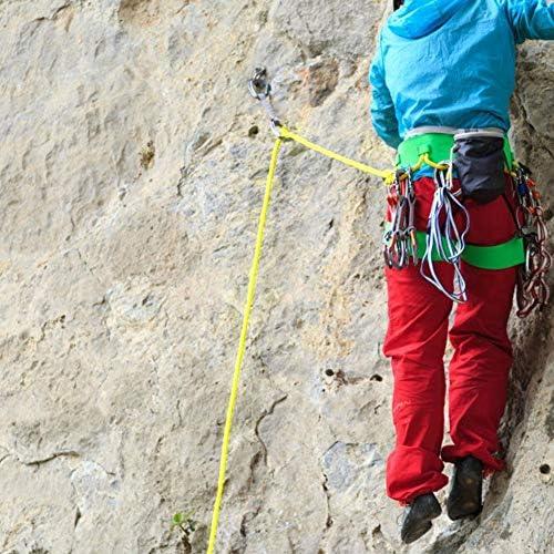 Alomejor Cuerda de Escape de Escalada al Aire Libre de 30 m Cuerda de Yute de Escalada con diámetro de 12 mm para Escalada Alpinismo