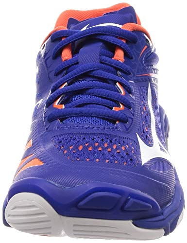 Lightning Interne Bleu orange Ss19 Mizuno blanc Scarpe Wave Z5 75Iqyxfvw
