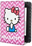 Hello Kitty Chevron Cover - Purple (Fits Kindle Paperwhite, Kindle & Kindle Touch)