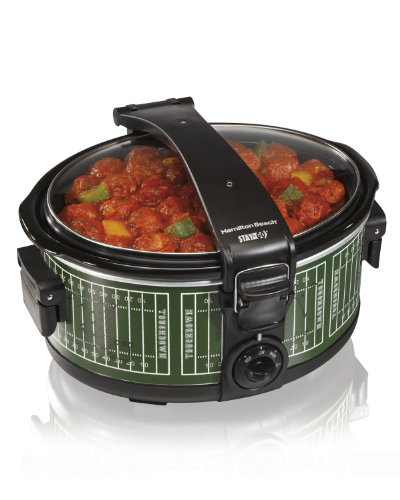 Hamilton Beach 33462 Stay or Go Portable Slow Cooker, 6-Quart