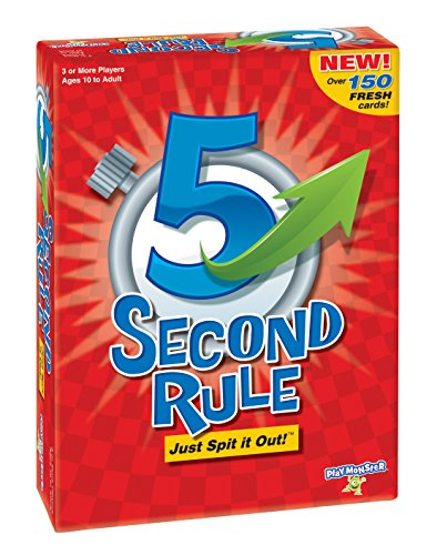 PlayMonster 5 Second Rule Game - New Edition (Best New Family Board Games)