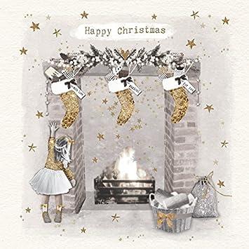 Hammond Gower publicaciones axpve024 tarjeta de Navidad (Pack de 8): Amazon.es: Oficina y papelería