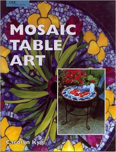 Mosaic Table Art By Carolyn Kyle 2000 Paperback 9780935133844 Amazon Com Books